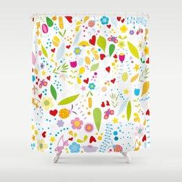 Florales Shower Curtain