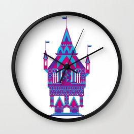 Castle in the Sky 02 Wall Clock