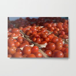 Grape Tomatoes Metal Print