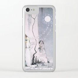 East of the Sun and West of the Moon - The Lassie & her Grandmother Clear iPhone Case