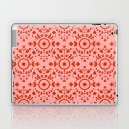 Boho Floral - Orange Laptop & iPad Skin
