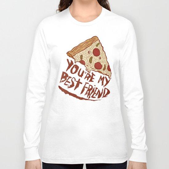 P-I-Z-Z-A Long Sleeve T-shirt