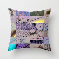 The World From my Computer  Throw Pillow