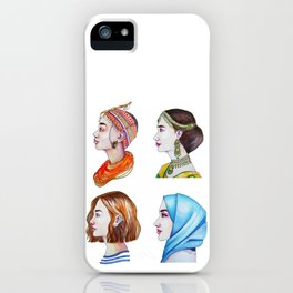 Women for the world iPhone Case