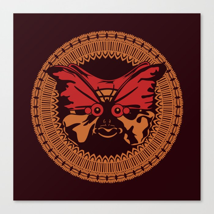 Puppet Butterfly Canvas Print