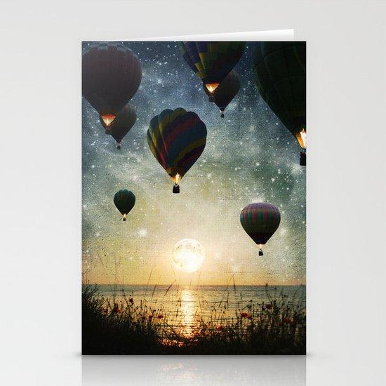 Lighting the night Stationery Cards