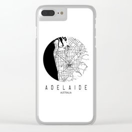 Adelaide Round Clear iPhone Case