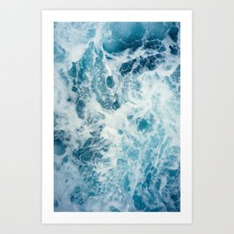 Rough Sea - Ocean Photography Art Print