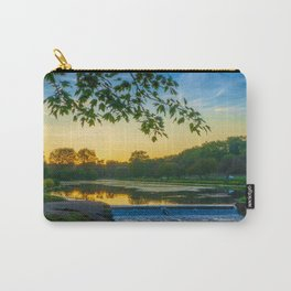 Lake Dam at Sunset Carry-All Pouch