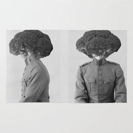 Soldier Broccoli. 1901. Rug