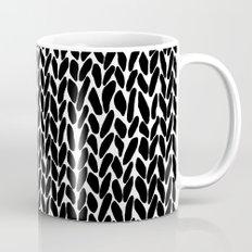 Hand Knitted Black S Mug