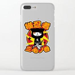 neko ninja#1 Clear iPhone Case