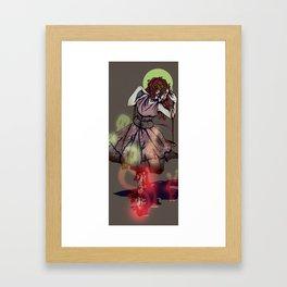 She Dances Endlessly, From Morning Til' Evening Framed Art Print