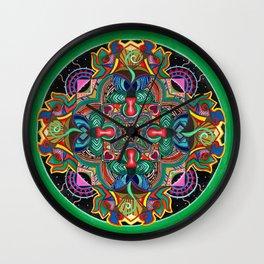 Mana Mandala Wall Clock