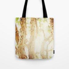 Trees/Light Tote Bag