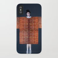 philosophy iPhone & iPod Cases featuring Philosophy of a Geisha by Kristina Haritonova