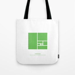 Design Principle FOUR - Proportion Tote Bag