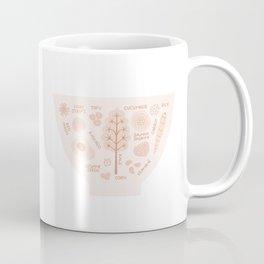 Peach Poke Bowl Coffee Mug