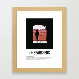The Searchers (1951) Framed Art Print