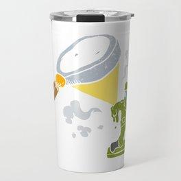 Magnifying melting soldier Travel Mug