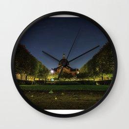Clear Night Wall Clock