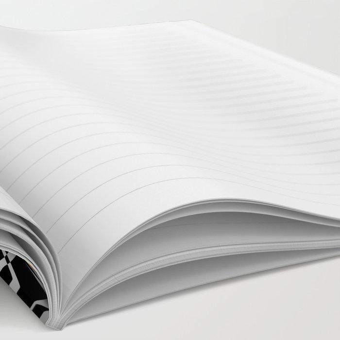 Black White Gold Mandala 2 Notebook
