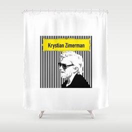 Krystian Zimerman Shower Curtain