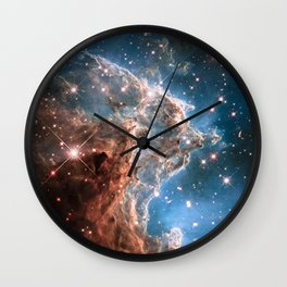 Monkey Head Nebula Wall Clock