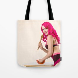 """Sweet Delights"" - The Playful Pinup - Sexy Baking Lingerie Pin-up by Maxwell H. Johnson Tote Bag"