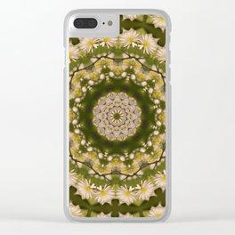 Daisy Chain Clear iPhone Case