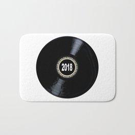 2018 Long Player Record Bath Mat