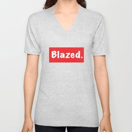 Blazed Unisex V-Neck