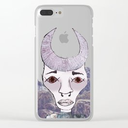 Planet Taurus Clear iPhone Case