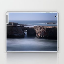 Keyhole Rock Arches Point Arena California Laptop & iPad Skin