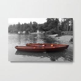 2 boats Metal Print