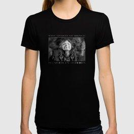 Dancer in Darkness  (b&w digital painting) T-shirt