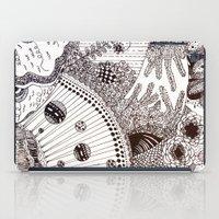 zentangle iPad Cases featuring Zentangle by Marisa Toussaint