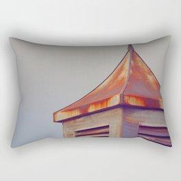 Rusted Rooftop Rectangular Pillow