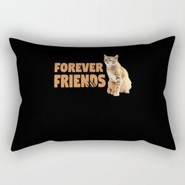 Mega Funny Cat Forever Friends Winks Rectangular Pillow
