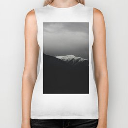 Don't stop / mountain photo art print / mountain poster Biker Tank