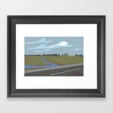 Lodi scenic Framed Art Print