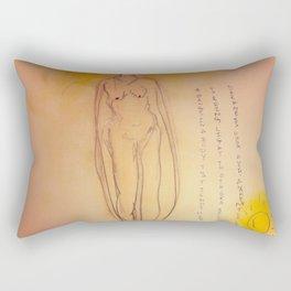 Lucille, The First Human Angel Rectangular Pillow