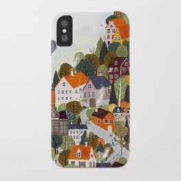 Forrest city iPhone Case