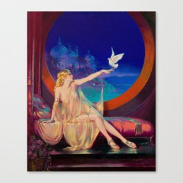 Henry Clive, Sultana - 1920s Art Canvas Print