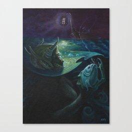 Umi-Nyobo - Adam France Canvas Print