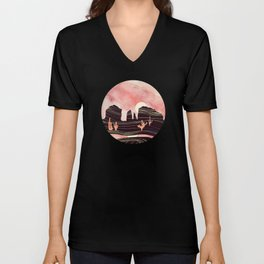 Rose Desert Unisex V-Neck