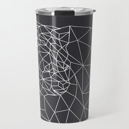 Triangle Bear (Outline) Travel Mug