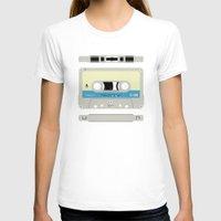 cassette T-shirts featuring Compact cassette by nvbr