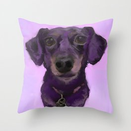 Weetzie the Chiweenie Throw Pillow