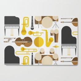 Jazz instruments Cutting Board